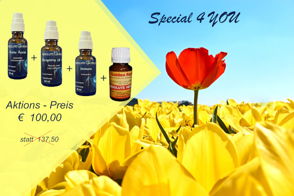 Bild  Aktion special 4 YOU  - Absolute Qi-Health